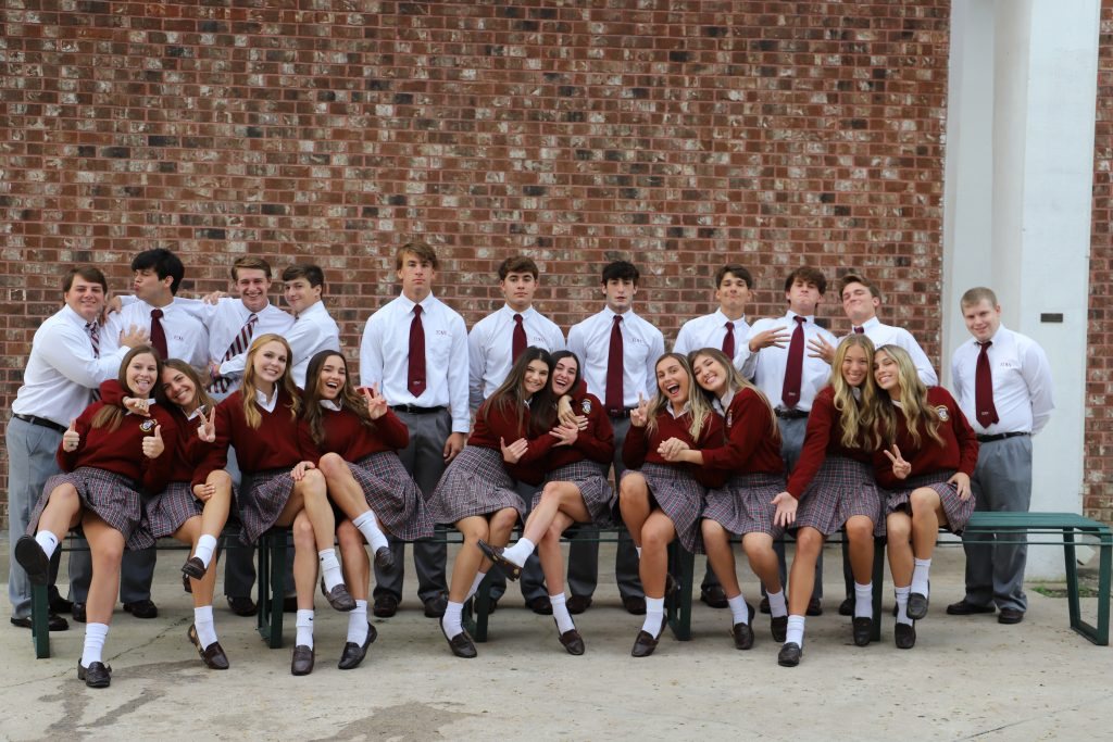 Silly Homecoming court 2021